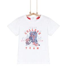 T-Shirt ALVIN Weiß 92